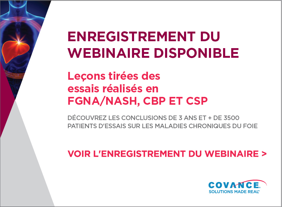 Covance : webinaire NASH