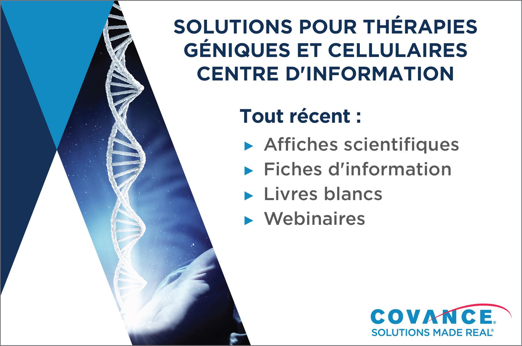 Centre d'information sur les thérapies cellulaires et géniques
