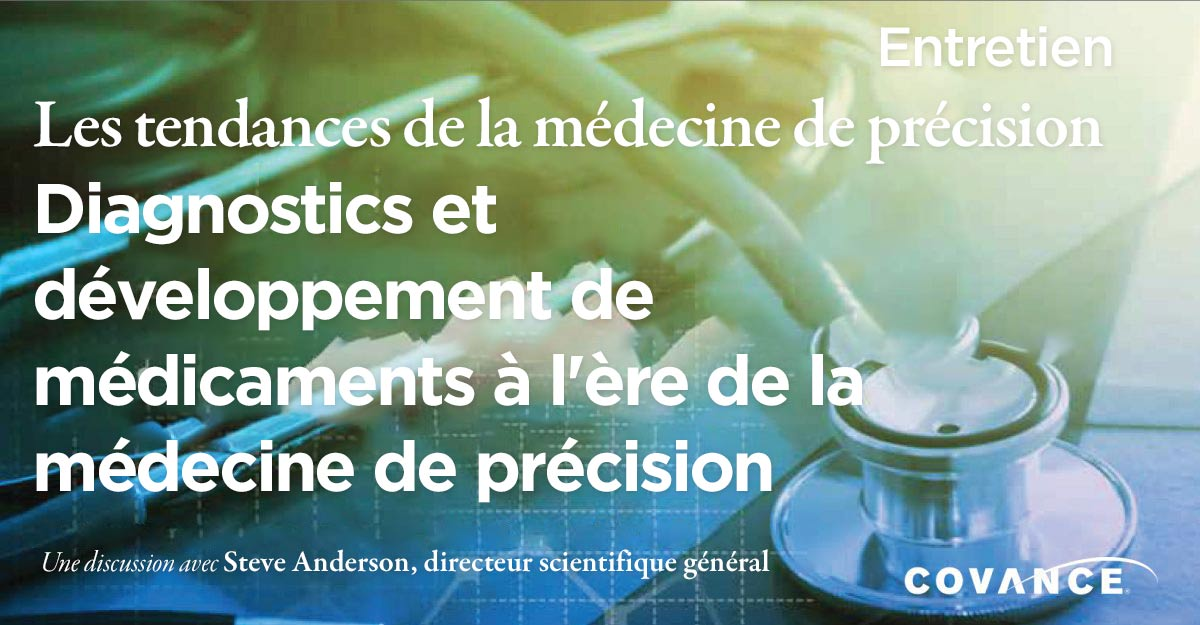 Diagnostics et développement de médicaments à l'ère de la médecine de précision